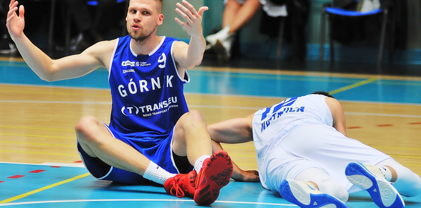 Koszykówka - Suzuki 1LM: Górnik z pierwszą przegraną w play-offach, poznaliśmy trzeciego półfinalistę