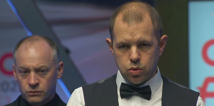 Snooker - Tour Championship: Hawkins obszedł się smakiem