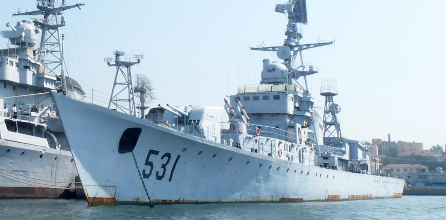 Chiński statek badawczy na wodach Indonezji
