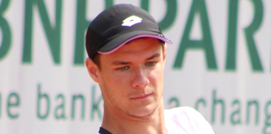Tenis – ATP Sofia: Majchrzak wykorzystuje drugą szansę
