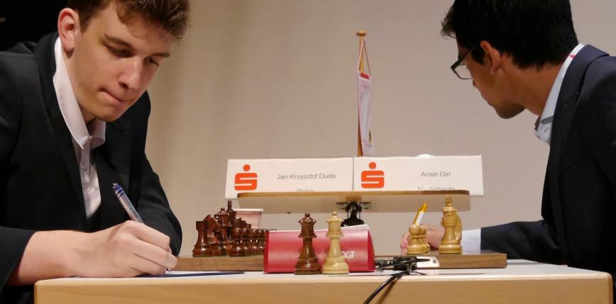 Szachy - Champions Chess Tour: Jan-Krzysztof Duda ostatni na półmetku finału