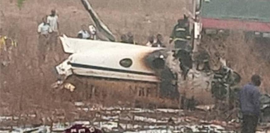 Mjanma: katastrofa samolotu wojskowego