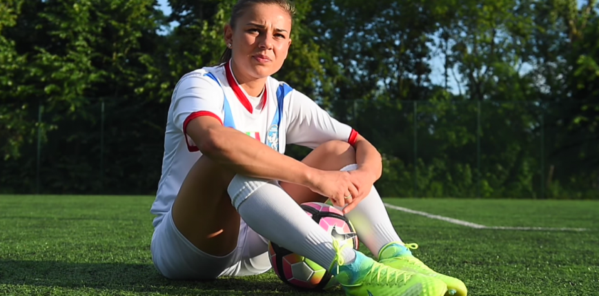 Piłka nożna kobiet: Aleksandra Rompa wraca do Ekstraligi!