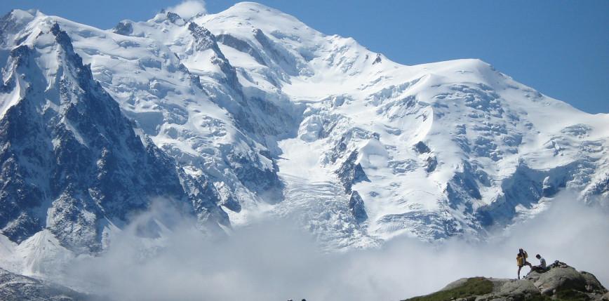 Francja: Mont Blanc niższy o metr