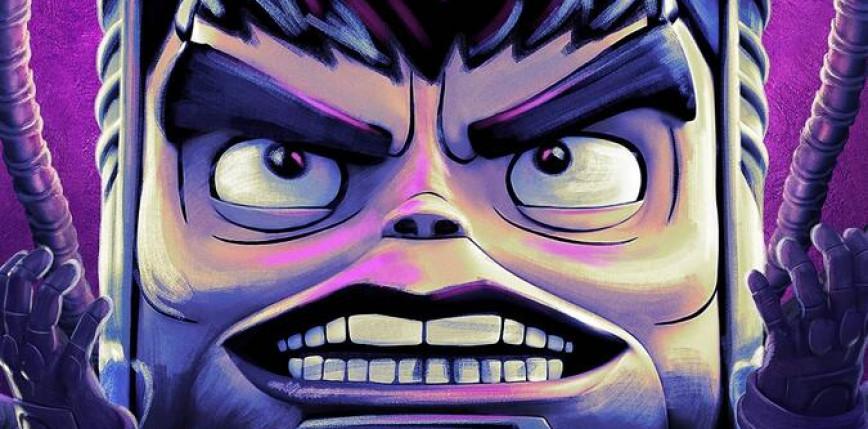 """""""M.O.D.O.K."""" z oficjalnym plakatem"""