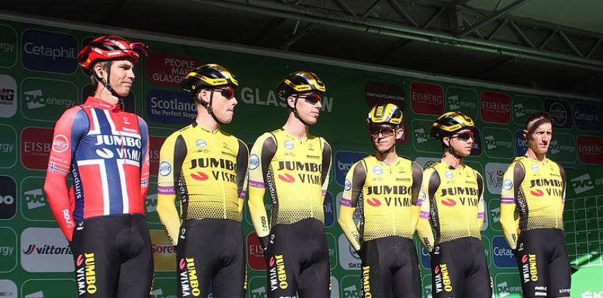 Kolarstwo: Team Jumbo-Visma ogłosił skład na Tour de France