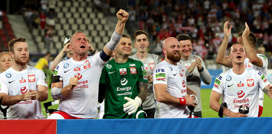 Amp Futbol - ME: Polska - Ukraina 3:0 [FOTORELACJA]