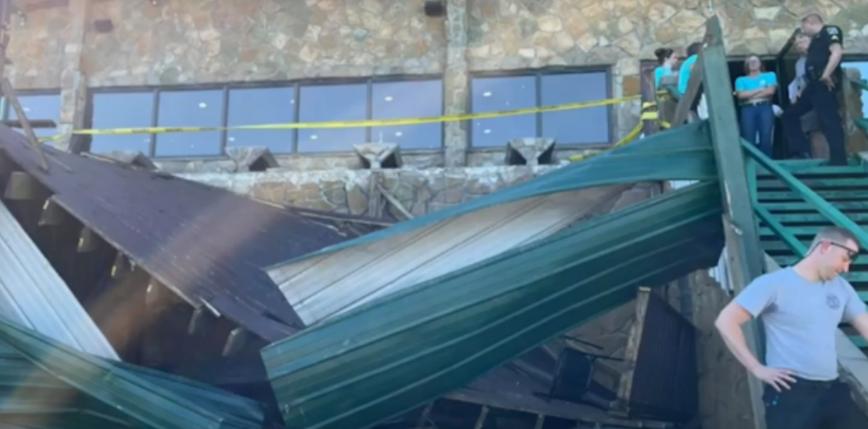 Tennessee: 11 osób zostało rannych wskutek zawalenia się tarasu w restauracji