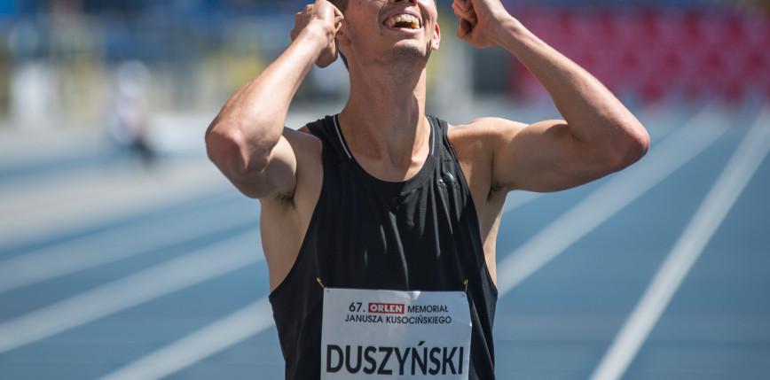 Lekkoatletyka: świetny wynik Duszyńskiego w Szwajcarii