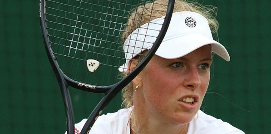 Tenis - WTA Chicago: porażka polskiego debla