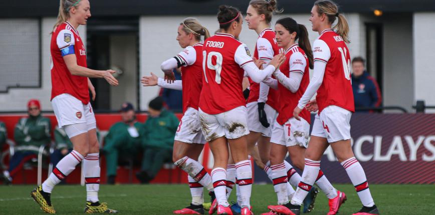 Piłka nożna kobiet: szlagier angielskiej FA WSL dla Arsenalu