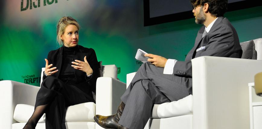 Elizabeth Holmes, miliarderka z Doliny Krzemowej, oskarżona o oszustwa inwestorów