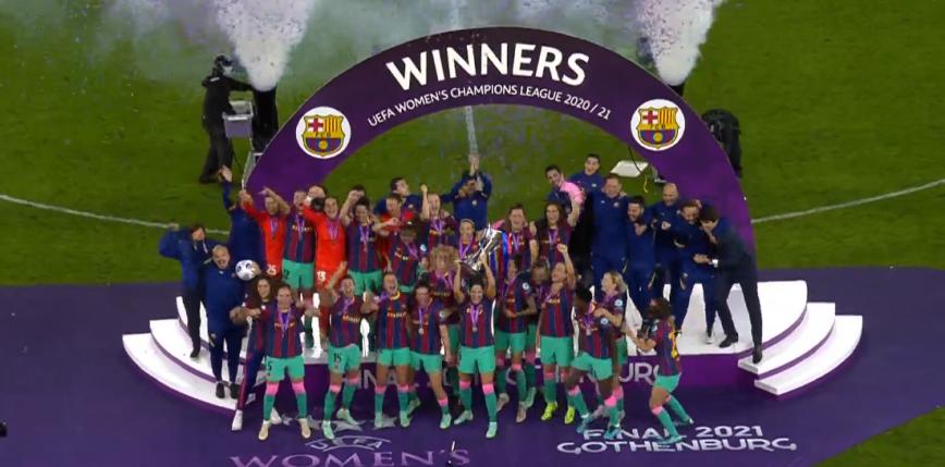 LM kobiet: koncert FC Barcelony w finale, Katalonki z pucharem!