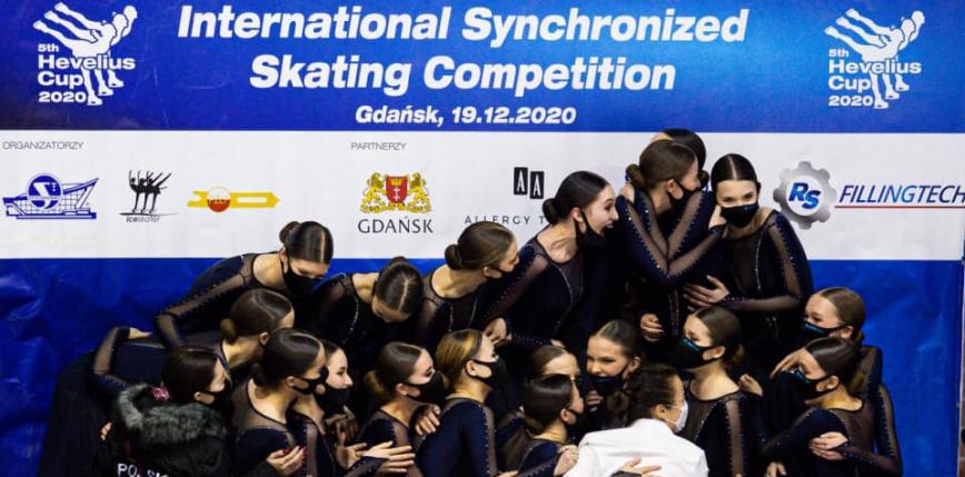 Łyżwiarstwo figurowe: zapowiedź mistrzostw Polski w łyżwiarstwie synchronicznym 2021