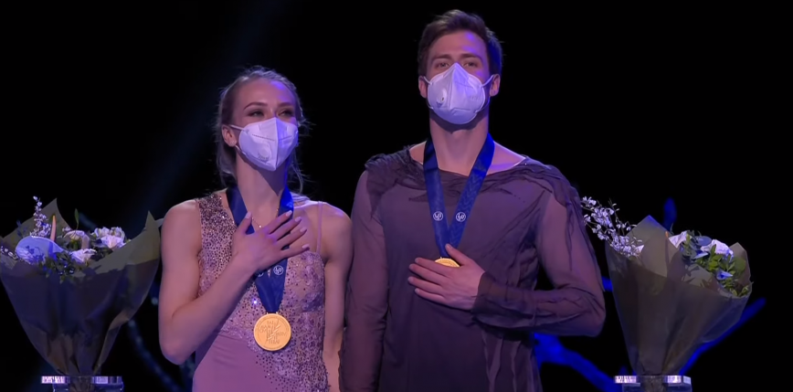 Łyżwiarstwo figurowe: Sinicyna i Kacałapow mistrzami świata 2021! Polacy na 12. miejscu.