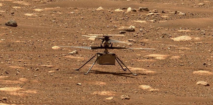 Ingenuity wykonał pomyślny lot na Marsie