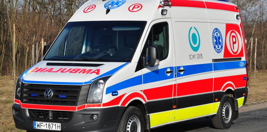 Pięciolatek wypadł z okna w Koszalinie