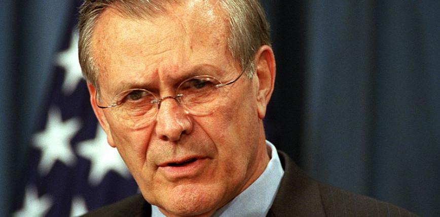 USA: nie żyje Donald Rumsfeld