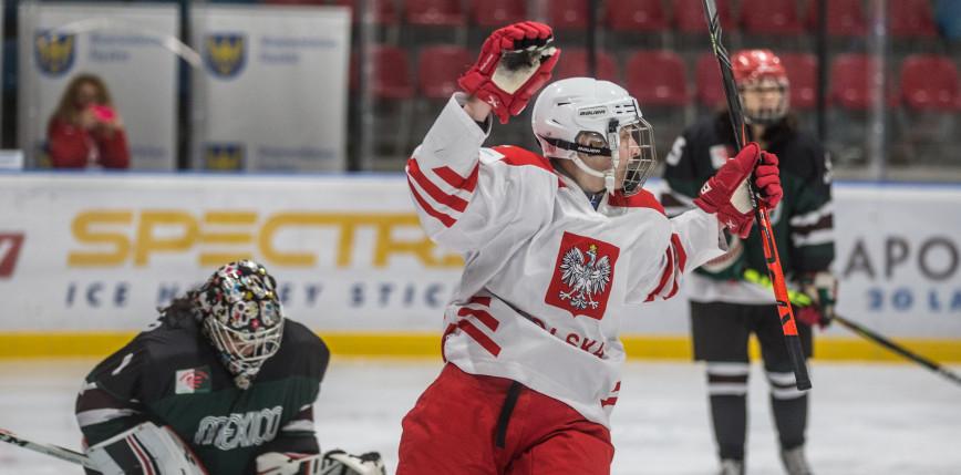 Hokej - kwalifikacje do IO: wysoka wygrana Polek!