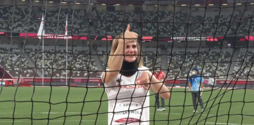 Tokio 2020 - Lekkoatletyka: złoty medal Róży Kozakowskiej!