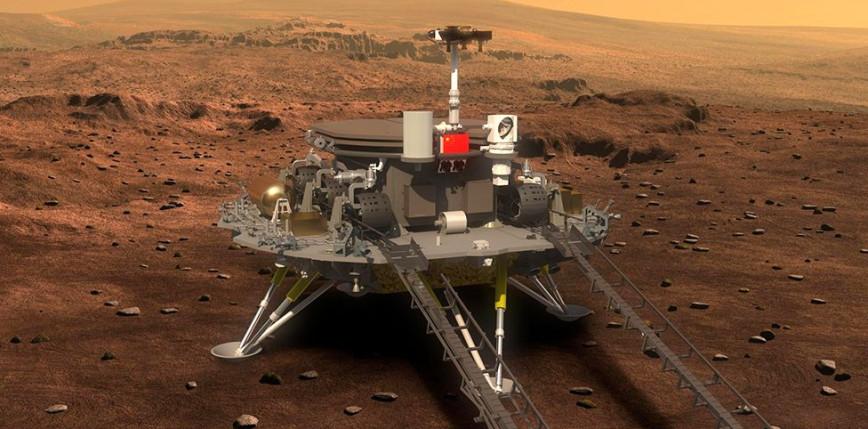 Chiński łazik wylądował na Marsie