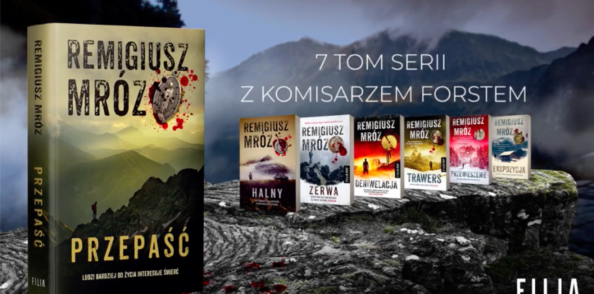 Nowa powieść od Remigiusza Mroza