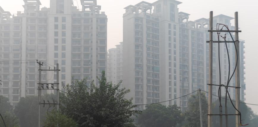 """Indie: pierwsza """"wieża smogowa"""" otwarta"""