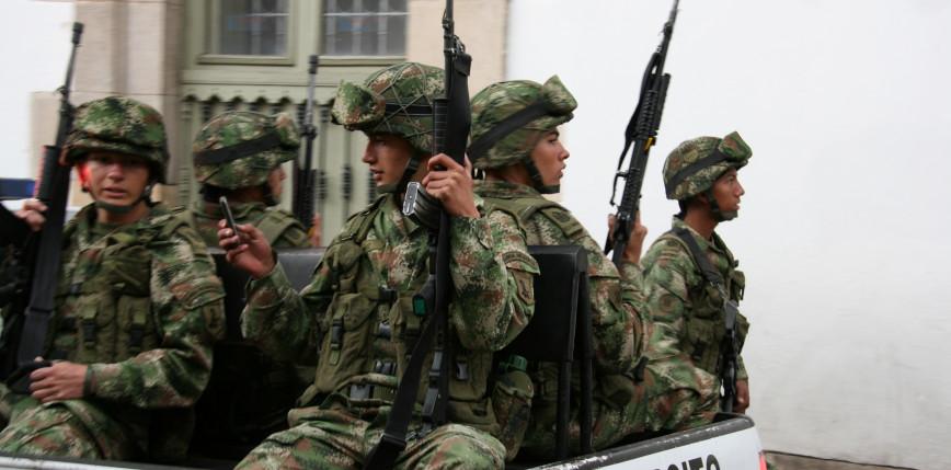 Kolumbia: w blisko dwudniowych starciach zginęło 26 osób