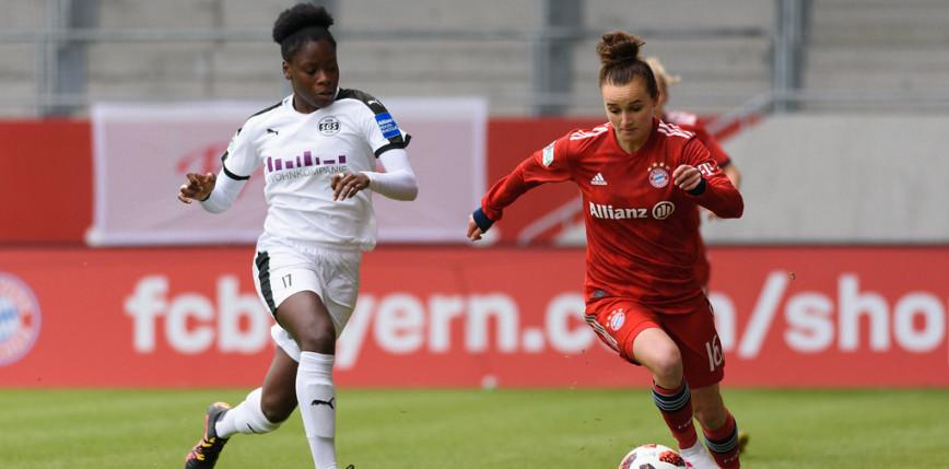 Piłka nożna kobiet: Bayern wciąż niepokonany w lidze