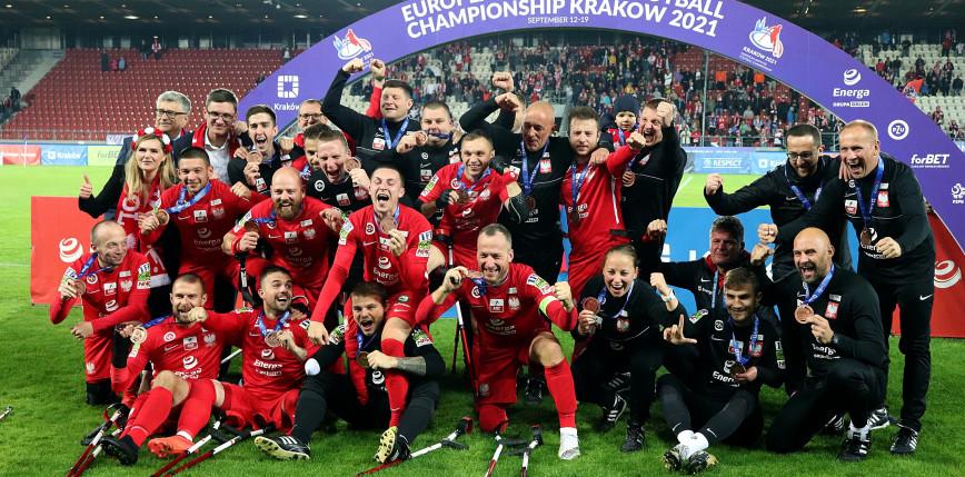 Amp Futbol - ME: Polska - Rosja 1:0 [FOTORELACJA]