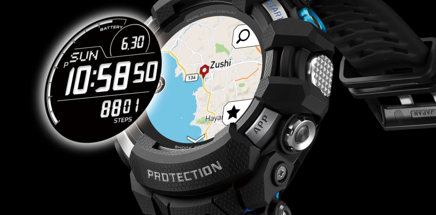 Pierwszy smartwatch G-SHOCK z Wear OS od Google
