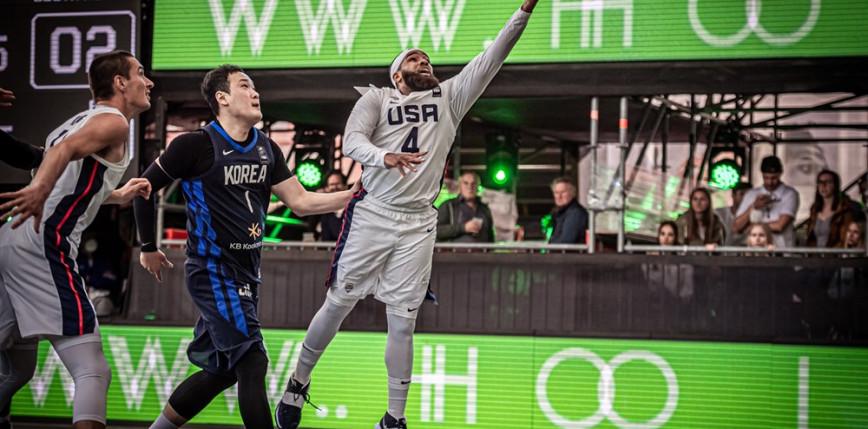 Koszykówka 3x3 - turniej kwalifikacyjny IO: ciekawa rywalizacja w grupach B i D