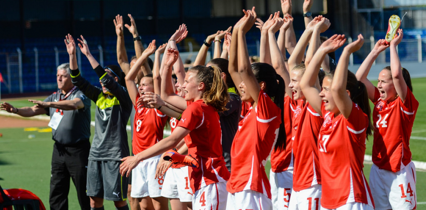 Piłka nożna kobiet: Rosja, Szwajcaria i Irlandia Północna jadą na EURO 2022!