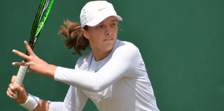 Tenis - WTA Miami: amerykański sen trwa, Świątek w półfinale debla!