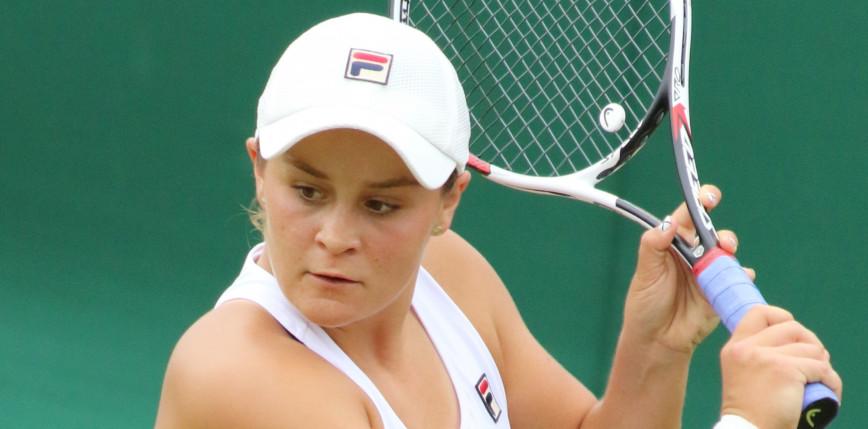 Tenis - Wimbledon: Barty lepsza od Kerber, drugi wielkoszlemowy finał Australijki