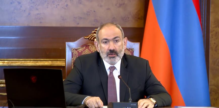 Armenia: Paszinian o napięciu na granicy z Azerbejdżanem