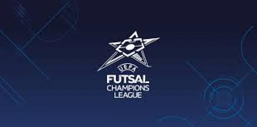 Futsal – LM: Rekord Bielsko-Biała zagra w 1/16 finału z United Galati