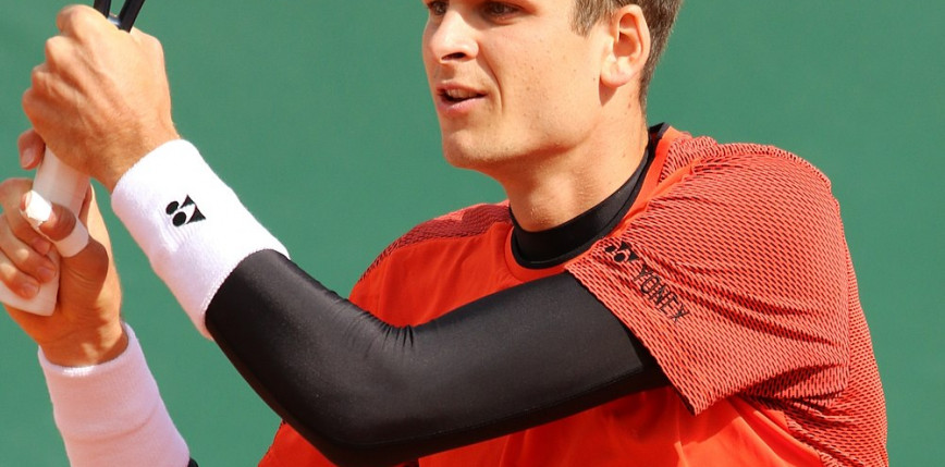 Tenis - ATP Madryt: porażka Hurkacza w 1. rundzie