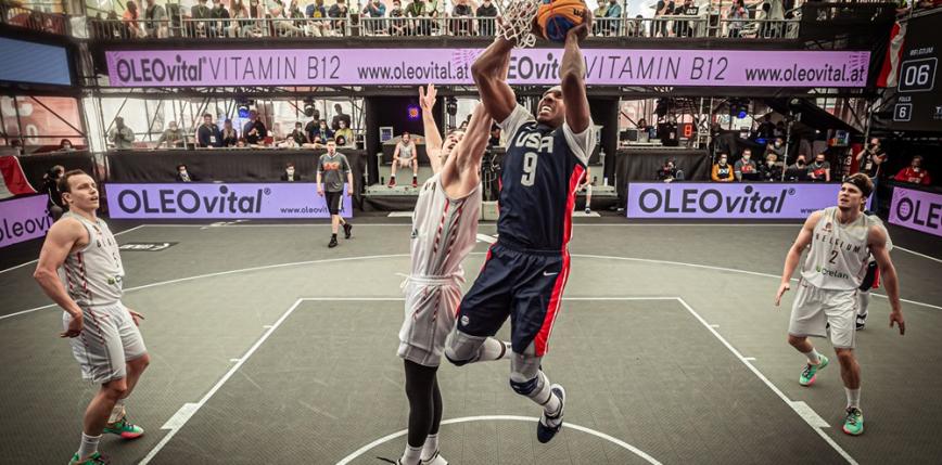 Koszykówka 3x3 - turniej kwalifikacyjny IO: znamy wszystkich ćwierćfinałów
