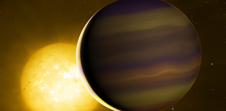 Skład atmosfery odległej planety odkrywa tajemnicę jej pochodzenia