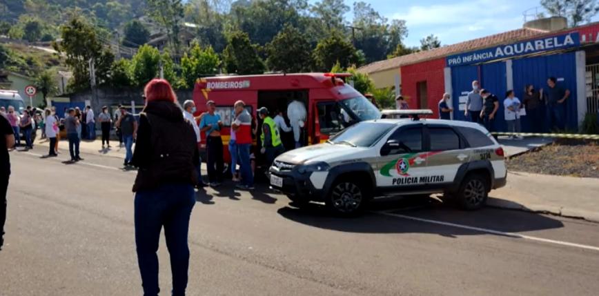 Brazylia: 18-latek wtargnął do przedszkola, zabijając trójkę dzieci i dwóch pracowników