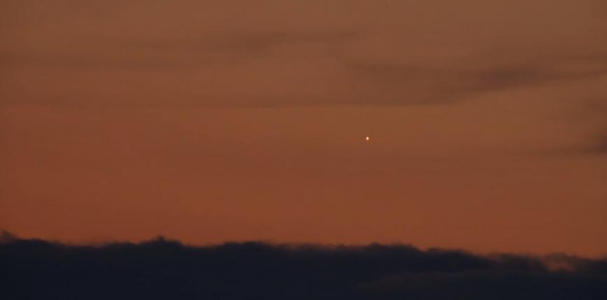Trwa sezon na obserwacje Merkurego