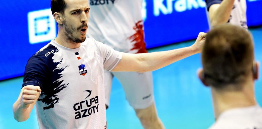PlusLiga: ZAKSA zwycięża w Suwałkach i melduje się w półfinale!