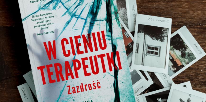 """""""W cieniu terapeutki"""" - recenzja debiutanckiej powieści Anny Krystaszek"""