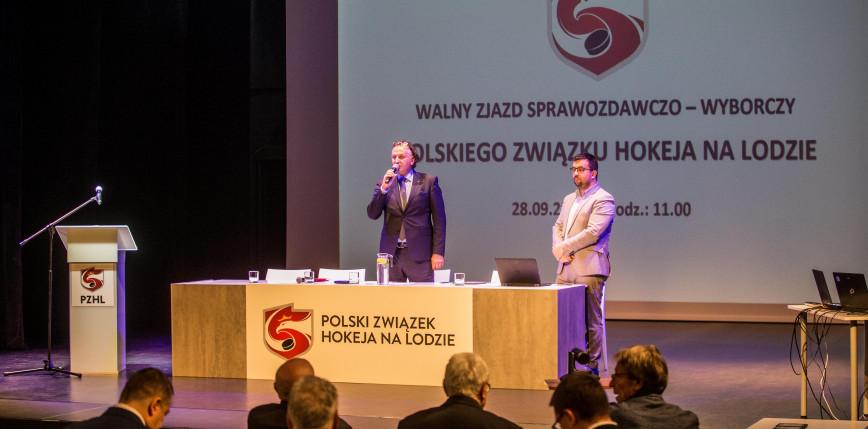 Hokej: Minkina prezesem PZHL na kolejną kadencję