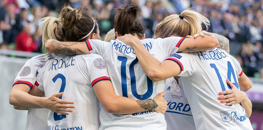 Piłka nożna kobiet: zwycięstwa PSG, Olympique Lyonnais i Manchesteru United