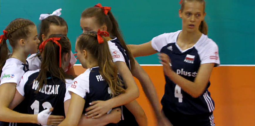 Siatkówka - ME U16: przegrana Polek w meczu o piąte miejsce