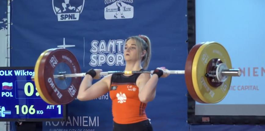 Podnoszenie ciężarów - MEJ i ME U23: Wołk z pierwszym medalem dla Polski