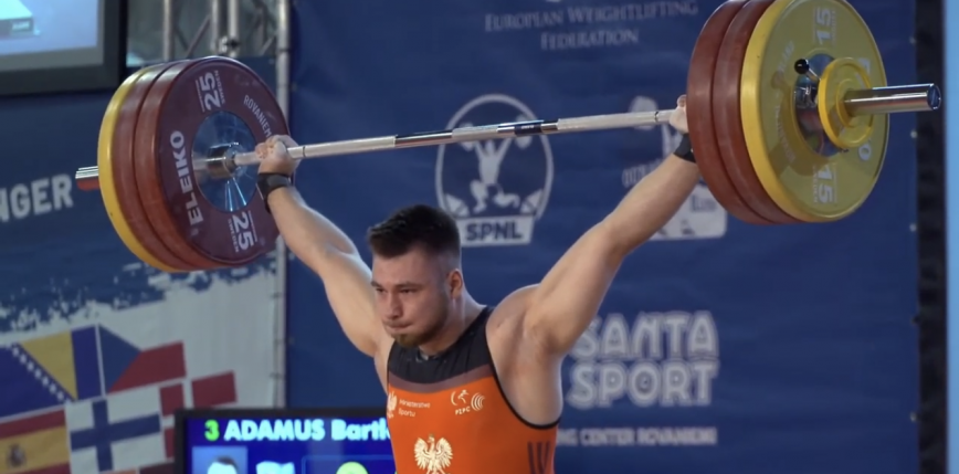 Podnoszenie ciężarów - MEJ i ME U23: dwa brązowe medale do polskiej kolekcji