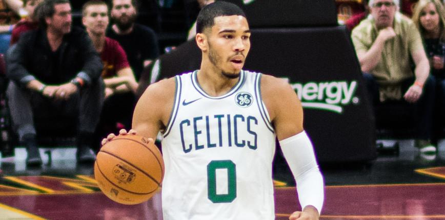 NBA: kapitalny Tatum, niesamowita końcówka Timberwolves